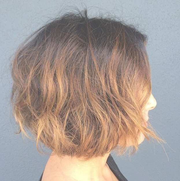 21 Textured Choppy Bob Hairstyles: Short, Shoulder Length Hair In Recent Choppy Layered Medium Hairstyles (View 20 of 25)