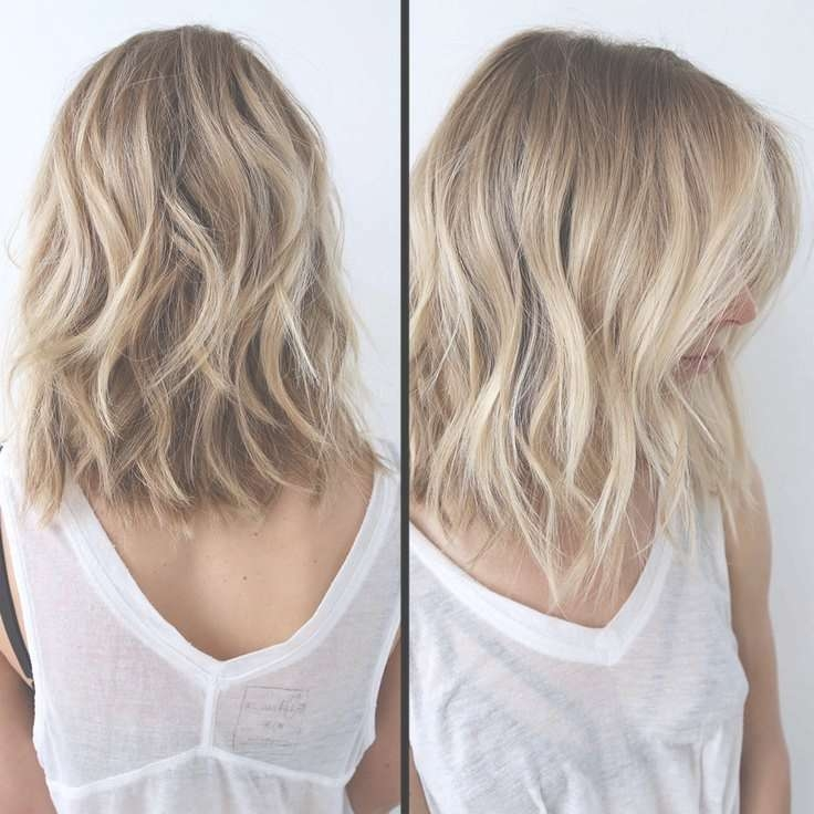 21 Textured Choppy Bob Hairstyles: Short, Shoulder Length Hair Pertaining To Recent Medium Haircuts For Blondes With Thin Hair (View 9 of 15)