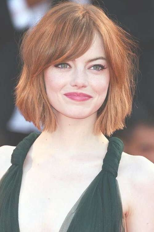 21 Trendy Hairstyles To Slim Your Round Face – Popular Haircuts For Most Recently Straight Medium Hairstyles For Round Faces (View 24 of 25)