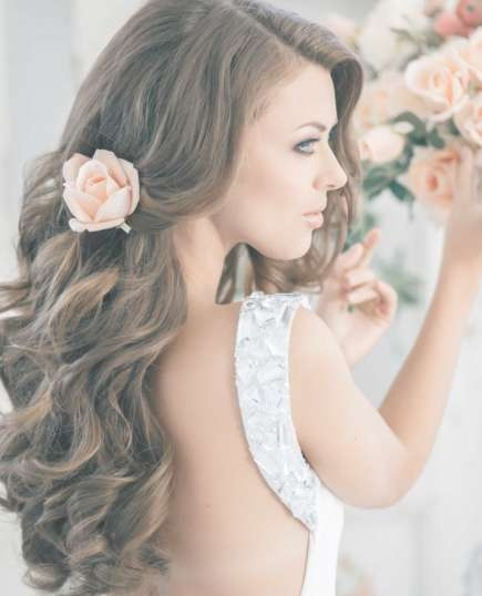 21 Wedding Hairstyles For Long Hair | More Within Latest Long Hairstyle For Wedding (View 7 of 25)
