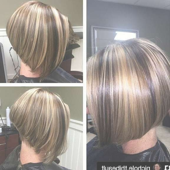 22 Amazing Layered Bob Hairstyles For 2018 You Should Not Miss With Inverted Bob Haircuts (View 9 of 25)