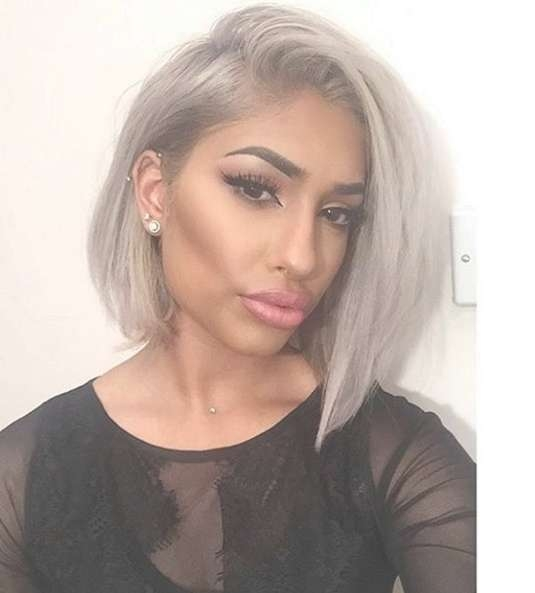 22 Cool Hairstyles For African American Women – Pretty Designs In Most Recent Medium Haircuts For Coarse Gray Hair (View 16 of 25)