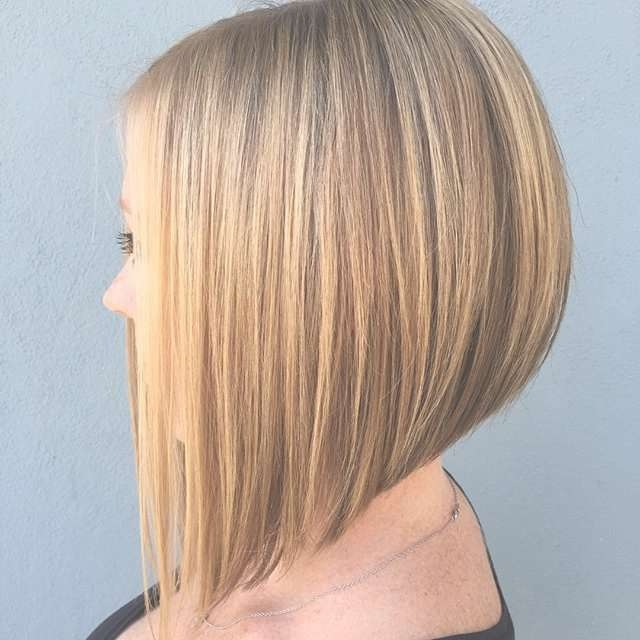 22 Most Popular A Line Bob Hairstyles – Pretty Designs With Line Bob Haircuts (View 8 of 25)