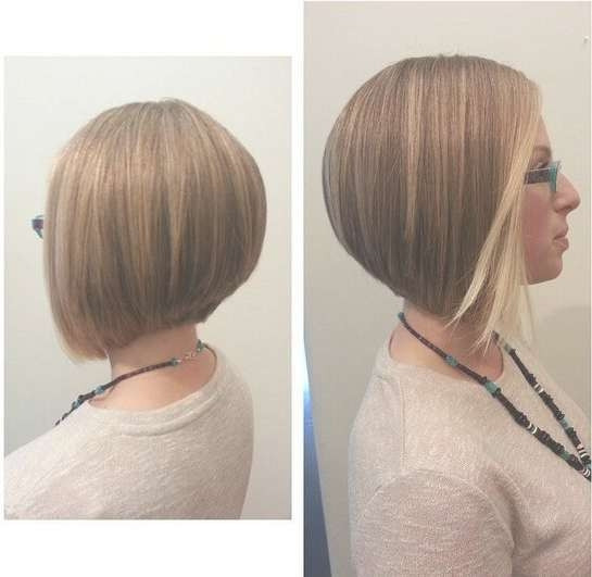 22 Popular Bob Haircuts For Short Hair – Pretty Designs Inside Inverted Bob Hairstyles (View 14 of 25)