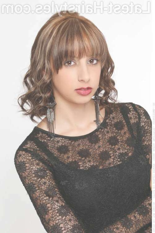 22 Popular Medium Length Hairstyles With Bangs (Updated For 2018) Within Most Recently Medium Haircuts Styles With Bangs (View 8 of 25)