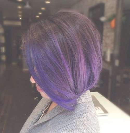 22 Sassy Purple Highlighted Hairstyles (For Short, Medium, Long With Regard To Recent Purple Medium Hairstyles (View 7 of 25)