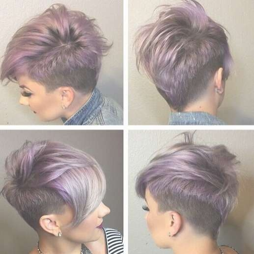 22 Trendy Short Haircut Ideas For 2018: Straight, Curly Hair Inside Best And Newest Medium Hairstyles With Shaved Sides (View 18 of 25)