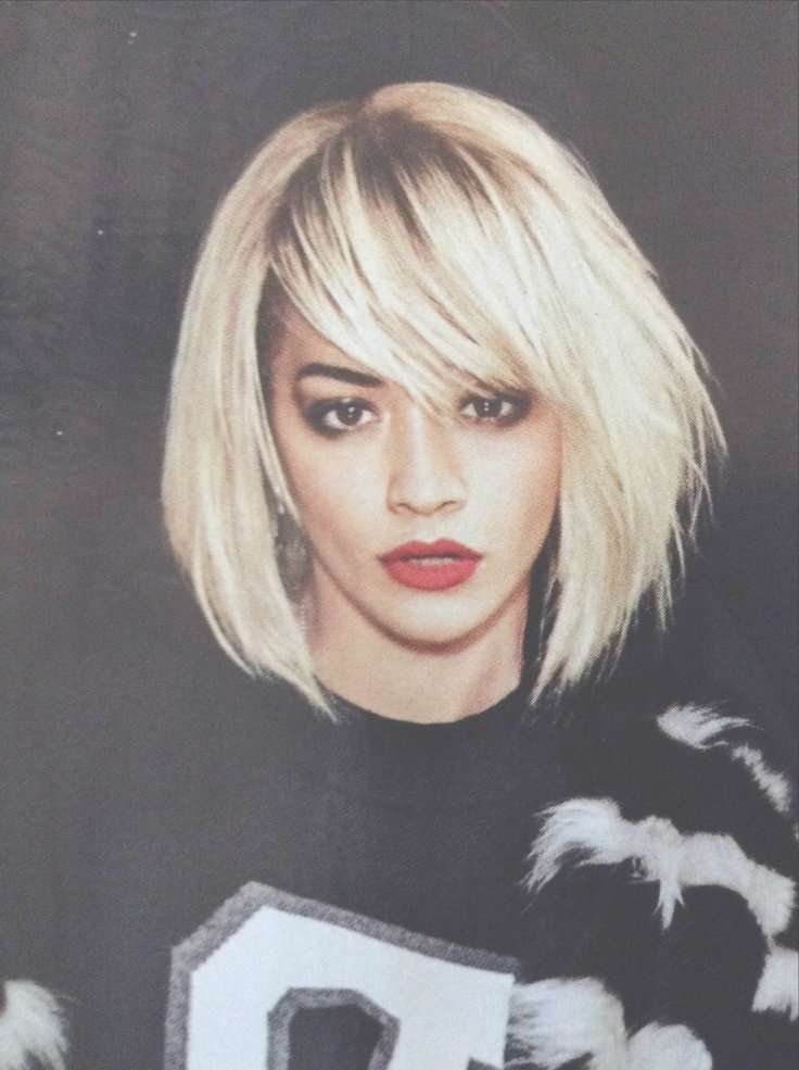 225 Best Rita Ora :) Images On Pinterest | Rita Ora, Celebrities Within Current Rita Ora Medium Hairstyles (View 2 of 15)