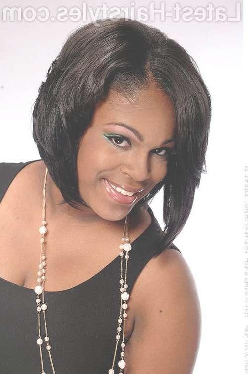 23 Best Black African American Hairstyles Images On Pinterest Regarding Best And Newest Medium Hairstyles For Round Faces African American (View 3 of 15)