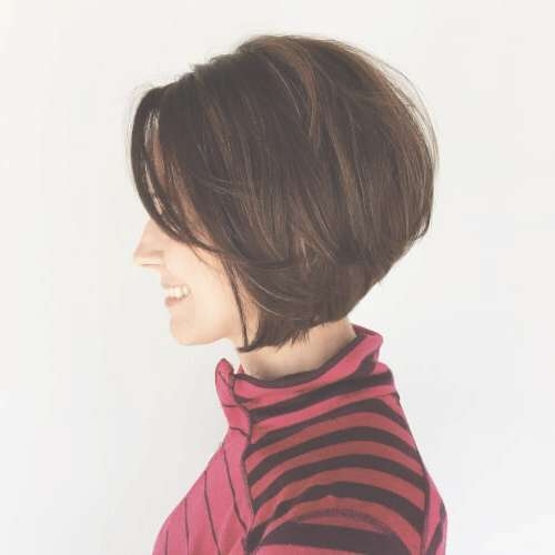 23 Chin Length Bob Hairstyles That Will Stun You (2018 Trends) Regarding Jaw Bob Haircuts (View 11 of 25)