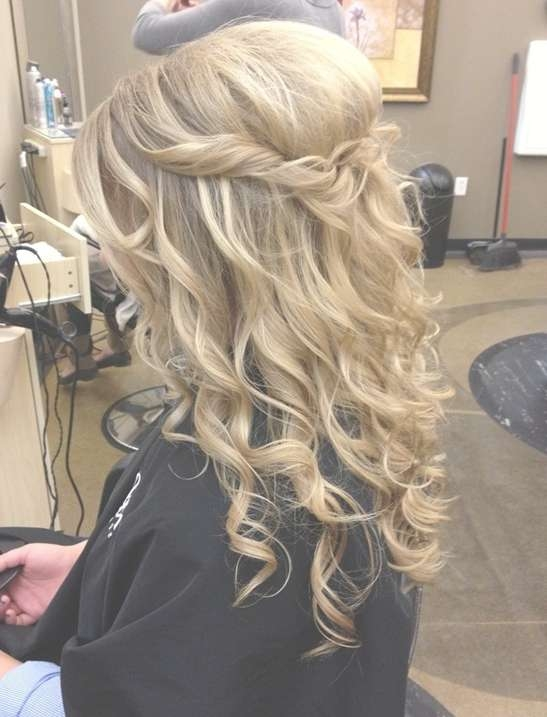 23 Prom Hairstyles Ideas For Long Hair – Popular Haircuts Within Most Up To Date Long Hairstyle For Prom (View 8 of 25)