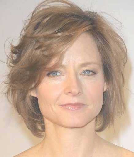 15 Photos Choppy Medium Hairstyles For Older Women