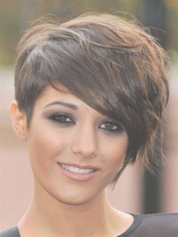 24 Best Sassy Short Haircuts Images On Pinterest | Short Bobs Inside One Side Longer Bob Haircuts (View 24 of 25)