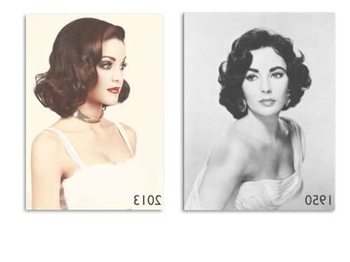 24 Vintage Hairstyles That Are Totally Hot Right Now Throughout Current 1950 Medium Hairstyles (View 13 of 25)
