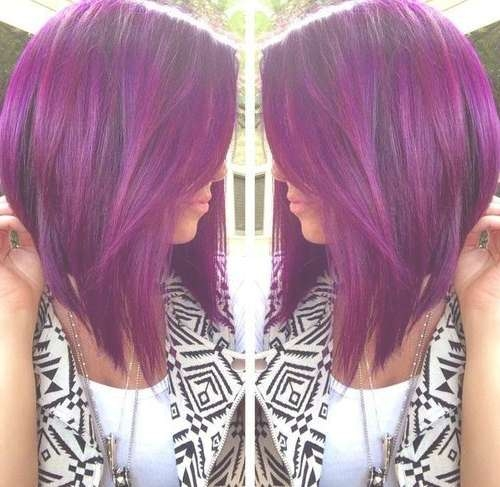 25 Best Long Angled Bob Hairstyles We Love – Hairstylecamp For Angled Bob Haircuts (View 13 of 25)