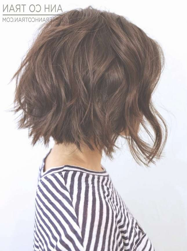 25 Delightful Wavy/curly Bob Hairstyles For Women   Styles Weekly Intended For Wavy Bob Hairstyles (View 18 of 25)
