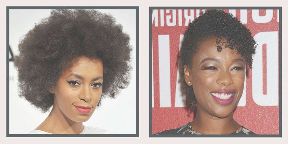 25+ Easy Natural Hairstyles For Black Women – Ideas For Short For Newest Medium Haircuts For Black Women With Natural Hair (View 6 of 25)