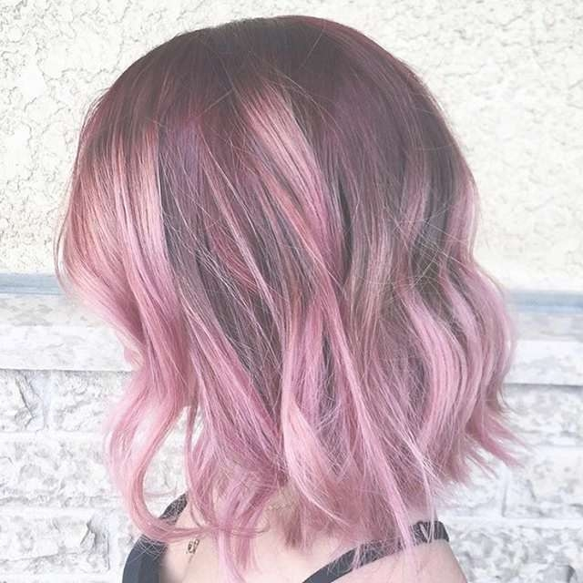 25 Exciting Medium Length Layered Haircuts – Page 2 Of 13 Regarding Recent Pink Medium Haircuts (View 4 of 25)