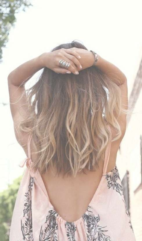 25 Exciting Medium Length Layered Haircuts – Page 3 Of 13 Within Most Recent Boho Medium Hairstyles (View 3 of 25)