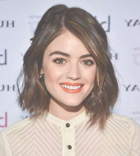 25 Flawless Medium Hairstyles For Women With Round Faces Regarding Most Current Medium Haircuts For Women With Round Face (View 5 of 25)