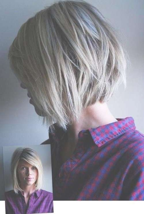 25+ Latest Short Layered Bob Haircuts | Bob Hairstyles 2017 For Layered Bob Haircuts (View 11 of 25)