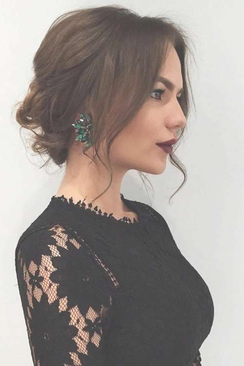 25 Most Beautiful Updos For Medium Length Hair (New For 2017) Inside Most Up To Date Medium Hairstyles For Formal Event (View 14 of 15)