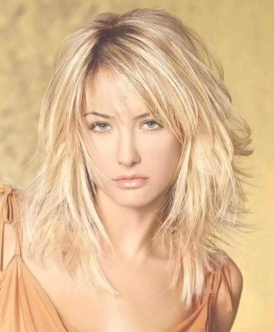 25 Most Superlative Medium Length Layered Hairstyles – Hottest For Current Medium Haircuts In Layers (View 23 of 25)