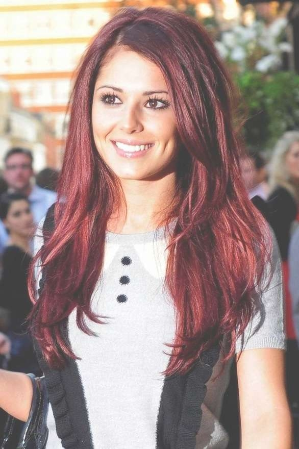 25 Perfect Burgundy Hair Color Styles Pertaining To Current Burgundy Medium Hairstyles (View 15 of 15)