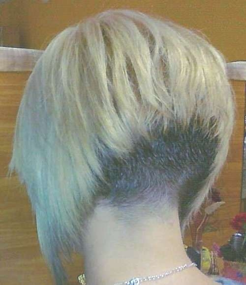 25 Pics Of Bob Hairstyles | Short Hairstyles 2016 – 2017 | Most Regarding Bob Haircuts Shaved In Back (View 12 of 25)