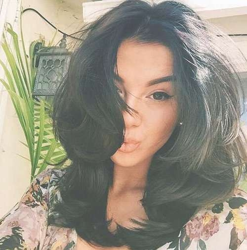 25 Popular Layered Medium Haircuts | Hairstyles & Haircuts 2016 – 2017 Intended For Best And Newest Medium Hairstyles Brunette Layers (View 10 of 25)