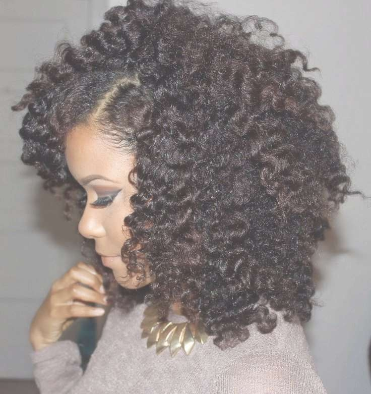 25 Transition Styles For Natural Hair – Tgin Within Most Up To Date Medium Haircuts For Transitioning Hair (View 2 of 25)