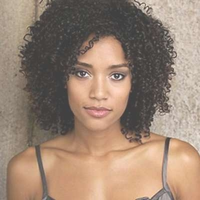 25 Unique African American Medium Hairstyles Ideas On Pinterest Regarding Most Up To Date Natural Medium Haircuts (View 2 of 15)
