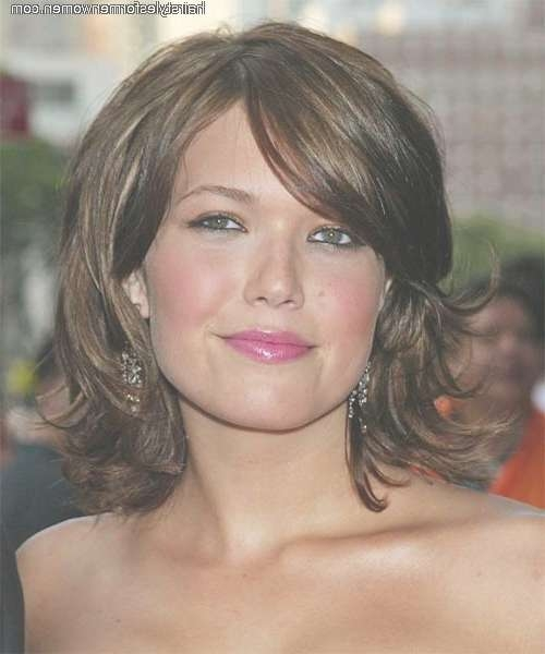 26 Best Hairstyles Images On Pinterest | Hair Cut, Hairstyle Ideas With Regard To Best And Newest Square Face Medium Hairstyles (View 20 of 25)