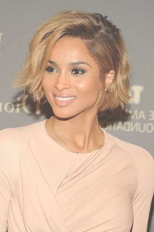 26 Sure Fire Short Afro Hairstyles: Cool Hair Cuts – Popular Haircuts Throughout Celebrity Short Bobs Haircuts (View 6 of 25)