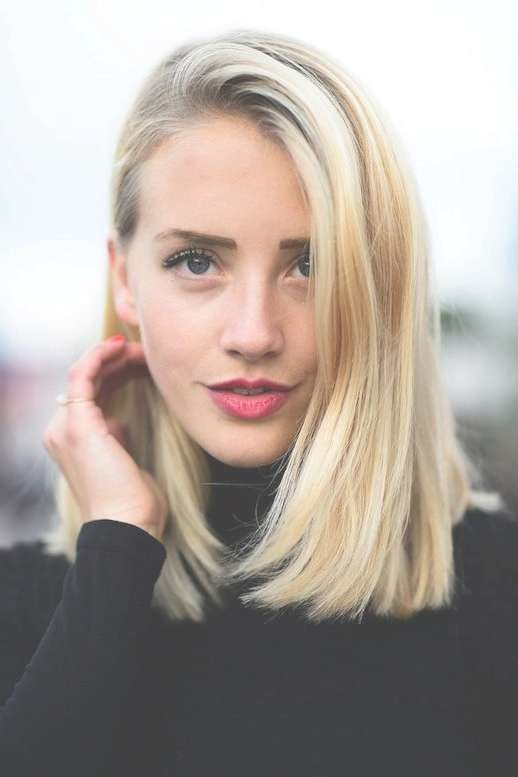 Image Gallery Of Straight Long Bob Hairstyles View 6 Of 25 Photos