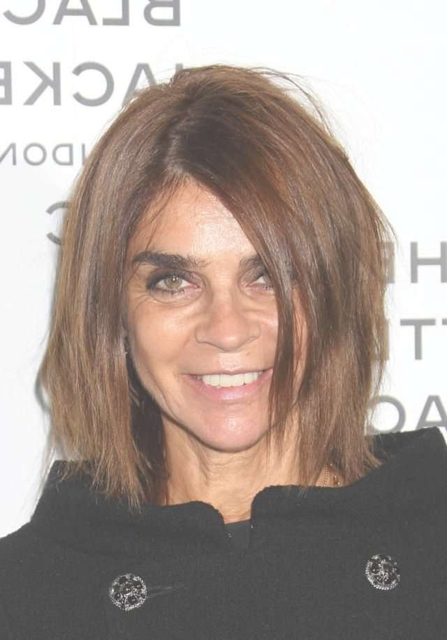 2018 Popular Medium Haircuts For Women In Their 50s