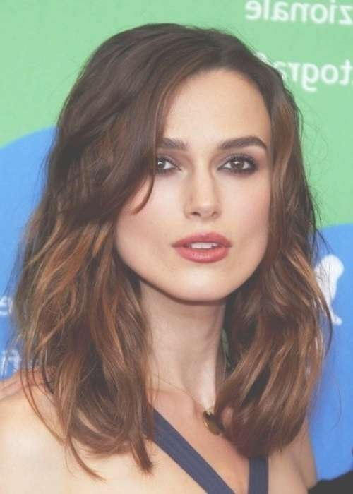 27 Best Square Face Shape Haircuts And Styles Images On Pinterest For Most Up To Date Medium Haircuts For Square Jaws (View 7 of 15)