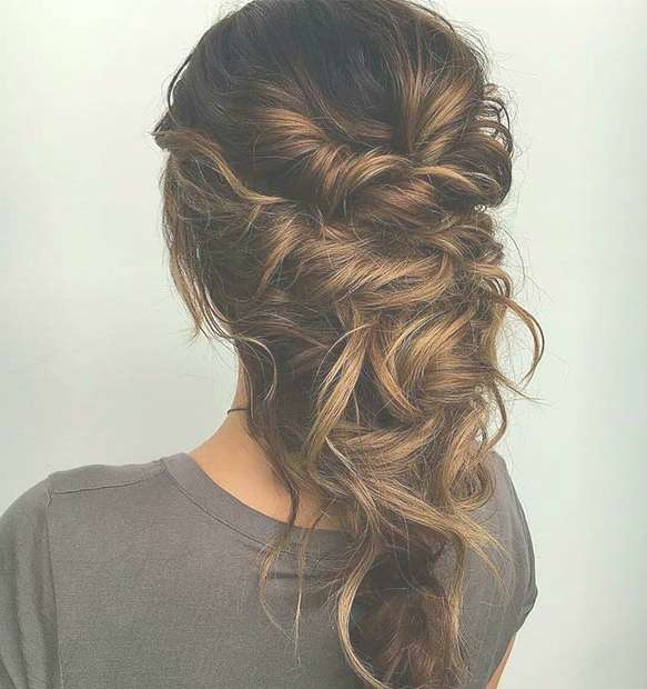 27 Gorgeous Prom Hairstyles For Long Hair   Stayglam Intended For Best And Newest Long Ball Hairstyles (View 14 of 25)