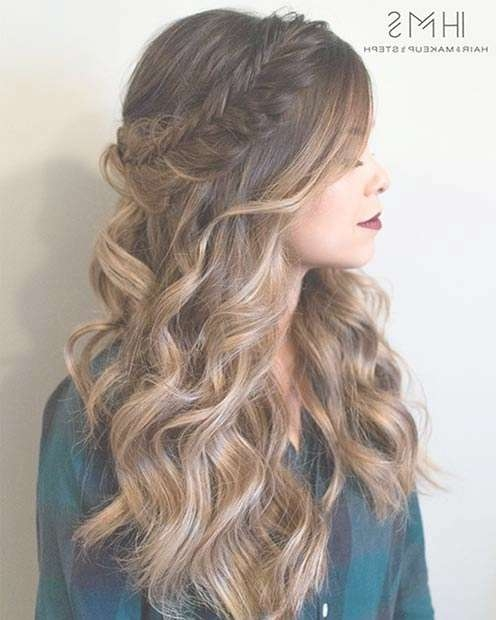 27 Gorgeous Prom Hairstyles For Long Hair | Stayglam Pertaining To Most Current Long Prom Hairstyles (View 20 of 25)