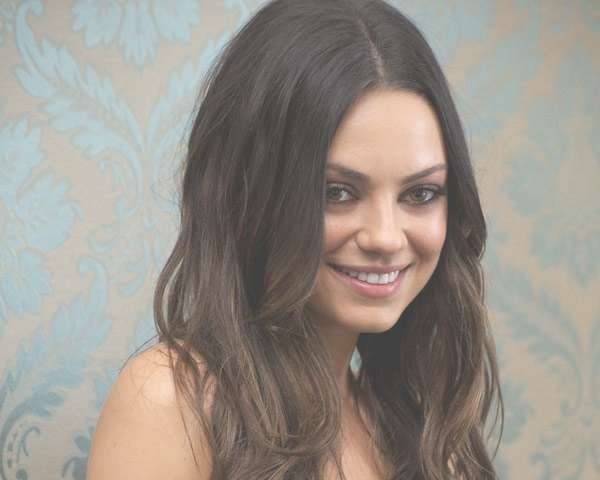 27 Mila Kunis Hairstyles – Slodive With Most Recent Mila Kunis Medium Hairstyles (View 16 of 25)