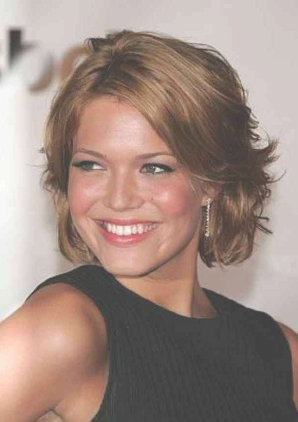 27 Stunning Image Of Short Hairstyles | Simple Stylish Haircut Pertaining To Newest Medium Hairstyles For Round Faces And Fine Hair (View 21 of 25)