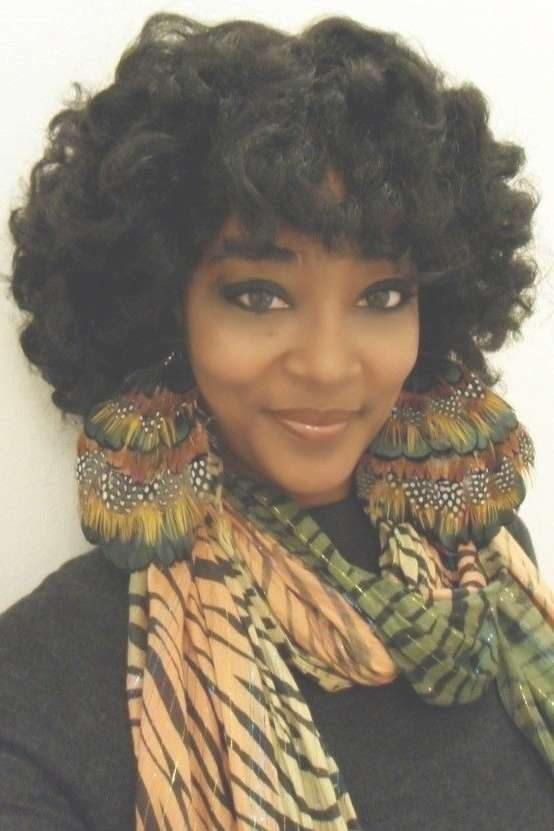28 Trendy Black Women Hairstyles For Short Hair | Natural African Intended For Recent Medium Hairstyles For African American Women (View 18 of 25)