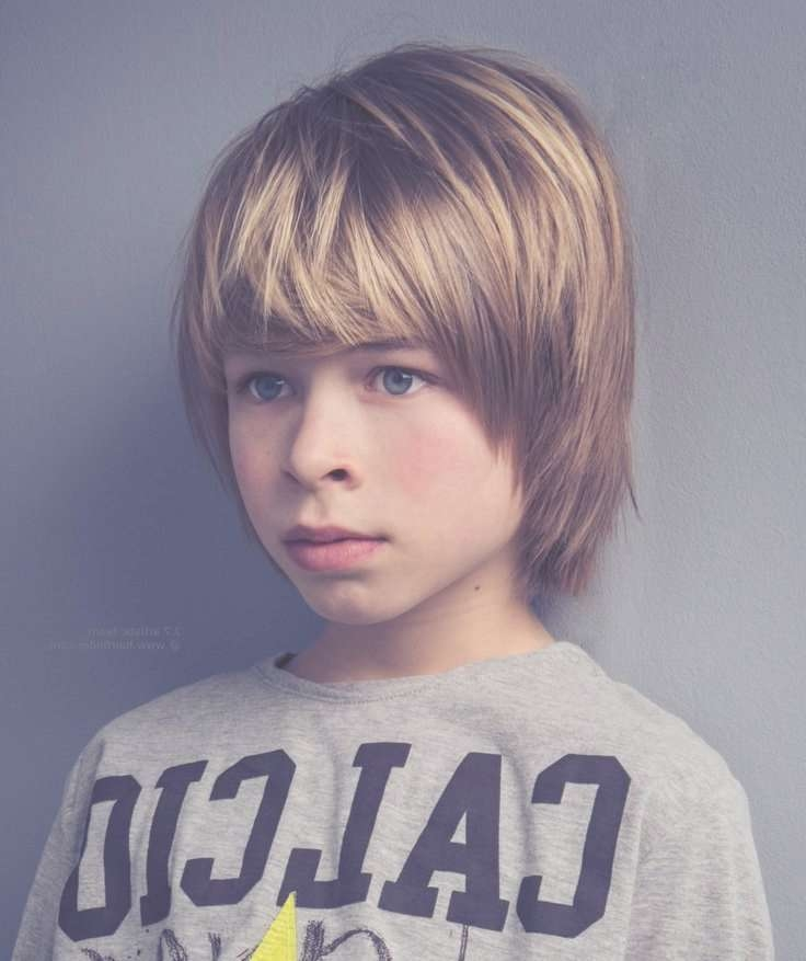 29 Best Boy Haircuts Images On Pinterest | Men Hair Styles, Boy Within 2018 Medium Hairstyles Covering Ears (View 14 of 15)