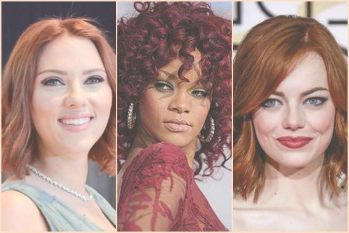 29 Best Hairstyles For Medium Red Hair With Regard To Current Medium Hairstyles For Red Hair (View 25 of 25)