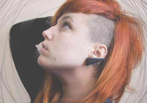 29 Sweet Undercut Hairstyle Ideas | Creativefan Intended For 2018 Half Shaved Medium Hairstyles (View 14 of 25)