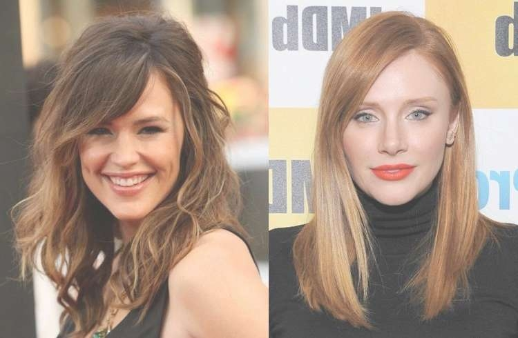 Photos Of Medium Haircuts For Big Foreheads Showing 11 Of 25 Photos