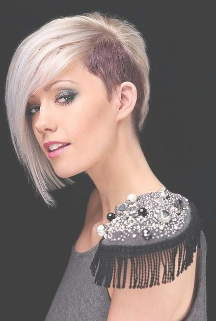 30 Asymmetrical Bob Styles With Regard To Most Current Half Shaved Medium Hairstyles (View 9 of 25)
