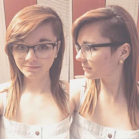 30 Awesome Undercut Hairstyles For Girls 2017 – Hairstyle Ideas For Recent Undercut Medium Hairstyles For Women (View 4 of 25)