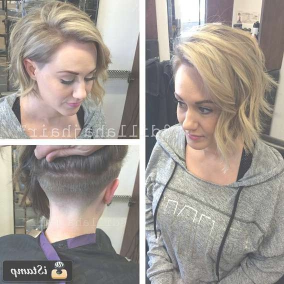 30 Awesome Undercut Hairstyles For Girls 2017 – Hairstyle Ideas Regarding Current Undercut Medium Hairstyles For Women (View 6 of 25)