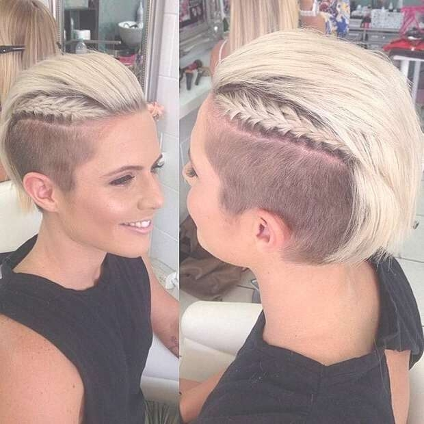 30 Awesome Undercut Hairstyles For Girls 2017 – Hairstyle Ideas With Regard To Latest Medium Hairstyles With Shaved Sides For Women (View 7 of 15)